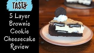 5 Layer Brownie Cookie Cheesecake Review