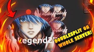 Alis.io DOUBLESPLITTING THE WHOLE SERVER! TROLLING As TheLegend27  - CRAZY DOUBLESPLITS! - Yhiita