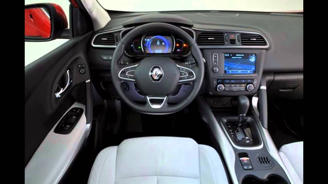 2016 renault kadjar interior youtube. Black Bedroom Furniture Sets. Home Design Ideas