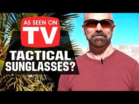 HD Vision Special Ops Review: As Seen on TV Tactical Sunglasses?