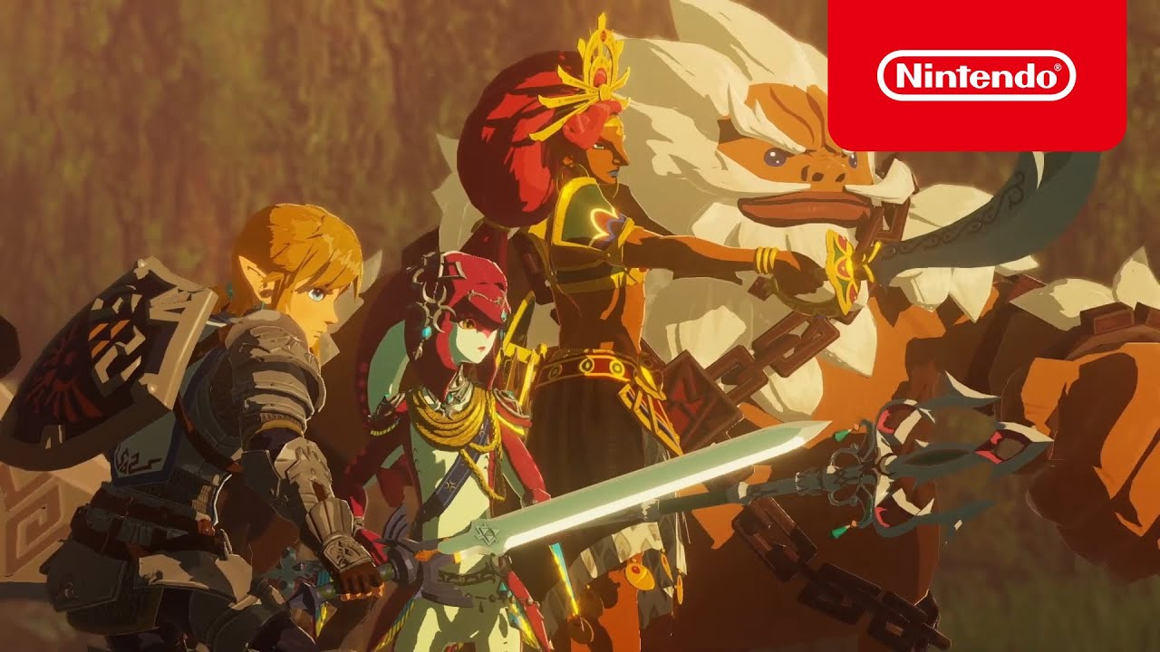 Hyrule Warriors Age Of Calamity Accolades Trailer Youtube