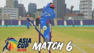 AFGHANISTAN v BANGLADESH - ASIA CUP 2018 GAMING SERIES - GROUP 2 MATCH 6 HIGHLIGHTS -ASHES CRICKET17
