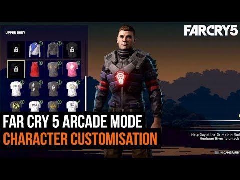 Far Cry 5 Arcade Mode Character Customisation