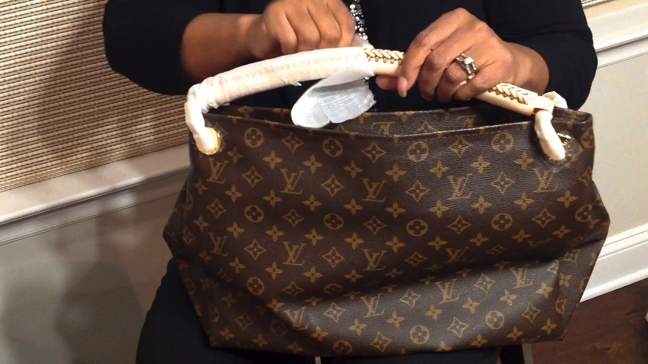 00a92616825d Louis Vuitton (Replica) Artsy MM review - YouTube