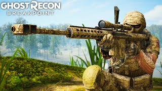 THE MOST POWERFUL SNIPER in Ghost Recon Breakpoint Free Roam