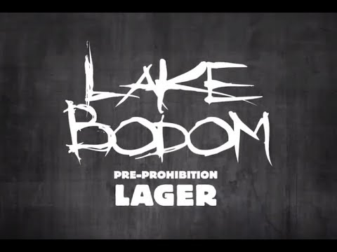 Children Of Bodom new beer 'Lake Bodom Pre-Prohibition Lager' w/ water from lake Bodom!