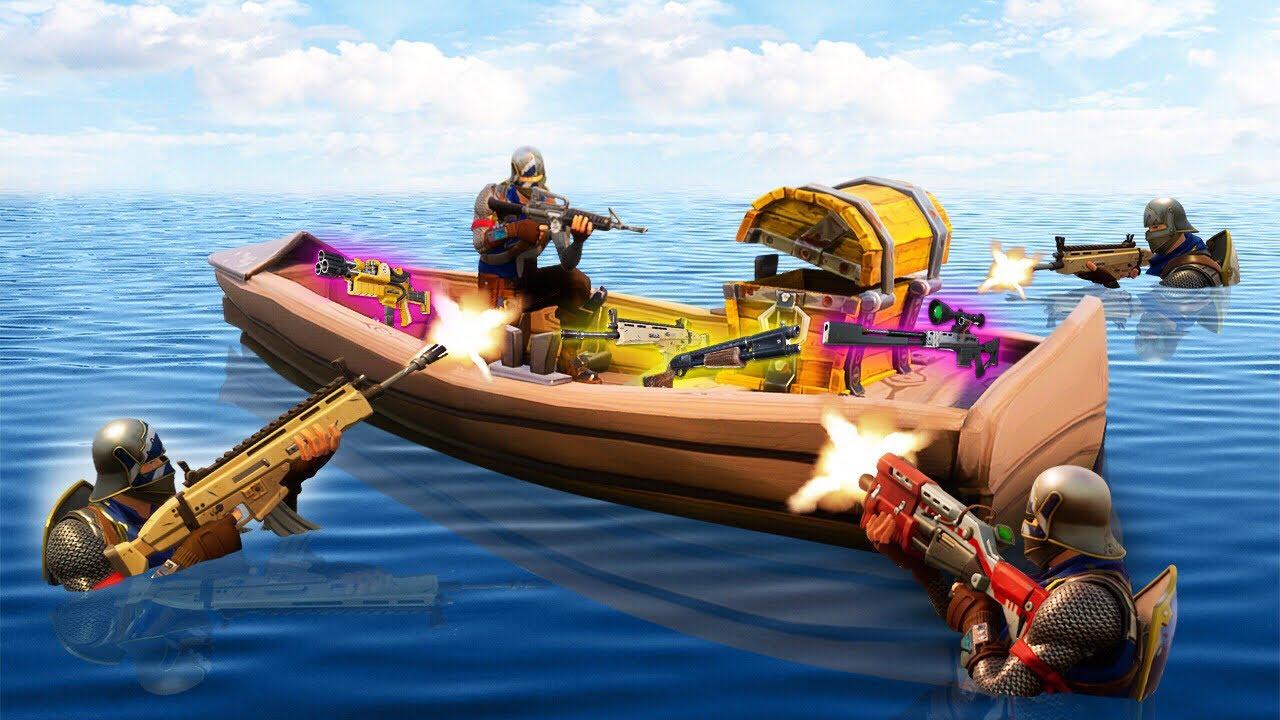 Legendary Loot Boat Trap Fortnite Battle Royale