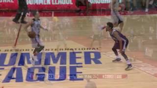 Atlanta Hawks Highlights Vs. Pelicans | NBA Summer League 2017 | 7.12.17
