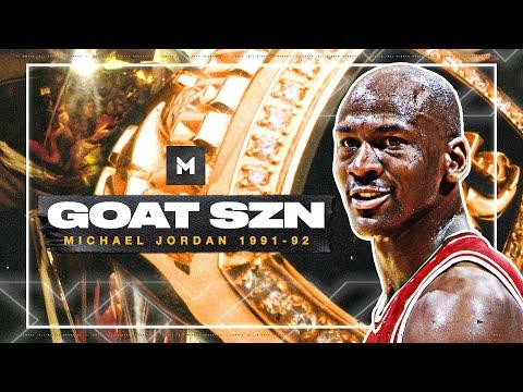 MICHAEL JORDAN ULTIMATE 1991-92 Season Highlights! 🏆🏆 BACK 2 BACK! | GOAT SZN