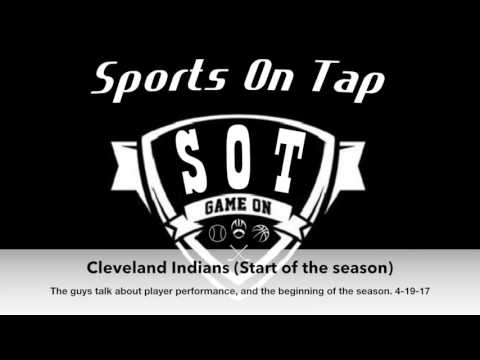 Cleveland Indians (Start of the season) 4-19-17