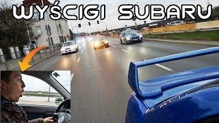 Dystrykt Subaru STI - 15 aut na ulicach Warszawy!