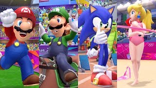 Mario and Sonic at the London 2012 Olympic Games - All Olympic Events