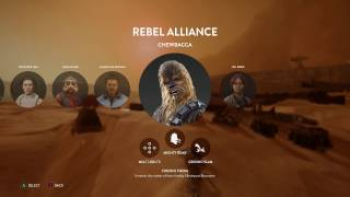 All Heroes and Villains Intros - Star Wars Battlefront