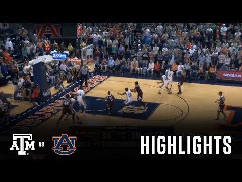 Men's Basketball: Highlights | A&M 81, Auburn 80