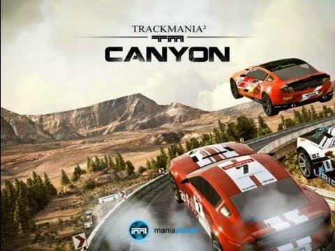 Небольшой обзор игры TrackMania 2 Canyon!!!