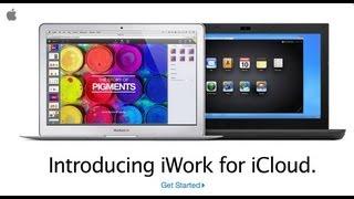iWork (Pages, Number и Keynote) для iCloud