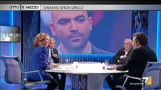 Otto e mezzo - Saviano sfida Grillo (Puntata 18/09/2017)