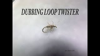 FLY TYING TECHNIQUES DUBBING LOOP TWISTER WITH RYAN HOUSTON 2018