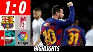 Perfekter Einstand für Trainer Setién dank Messi | Barcelona - Granada 1:0 | Highlights | La Liga