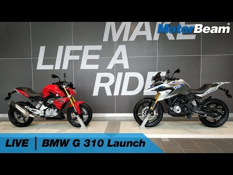 BMW G 310 R & G 310 GS India Launch - Live | MotorBeam