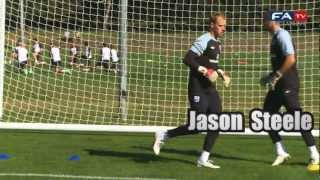 England U21 Keeper Training Session | England U21 v Norway U21