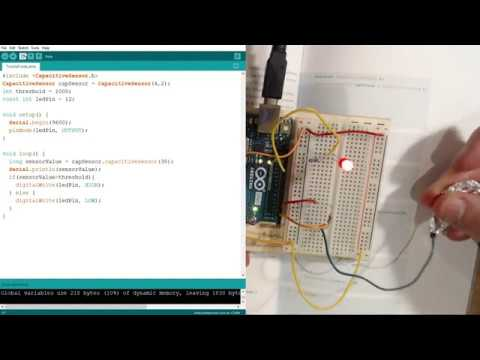 Sofox Tries The Arduino Starter Kit - Chapter 13 - Touchy Feely Lamp