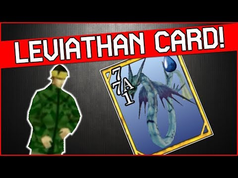 How To Get Leviathan Card In Final Fantasy 8 Remastered - CC Group Quest Part 1