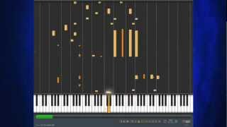 Lindsey Stirling - Crystalize - Piano tutorial - Synthesia