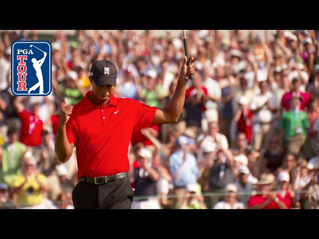 Tiger Woods' signature style