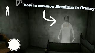 How To Summon Slendrina in Granny(Easter Egg)