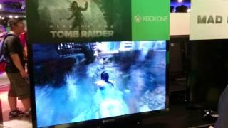 香港XboxOne FanFest 2015的RFT Tomb Raider E3版Demo