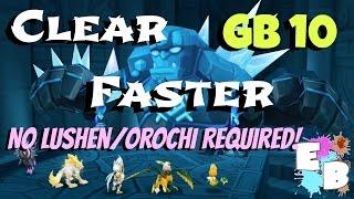 SUMMONERS WAR: Speeding up my GB10 runs!