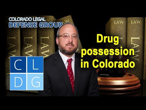 """""""Simple"""" drug possession in Colorado – Possession for personal use"""