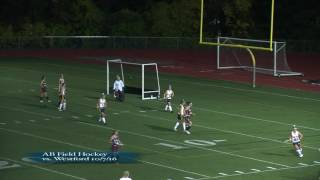Acton Boxborough Varsity Field Hockey vs Westford 10/7/16