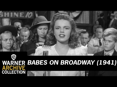 Babes on Broadway (1941) – Chin Up! Cheerio! Carry On!