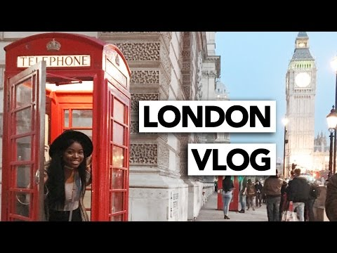 LONDON VLOG | POST BREXIT LONDON TRIED TO KEEP ME OUT BUT COULDN'T