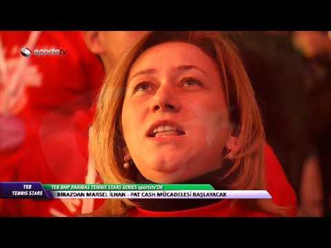 TEB Tennis Stars (Marsel İlhan vs. Pat Cash / Çağla Büyükakçay vs. Eugenie Bouchard)