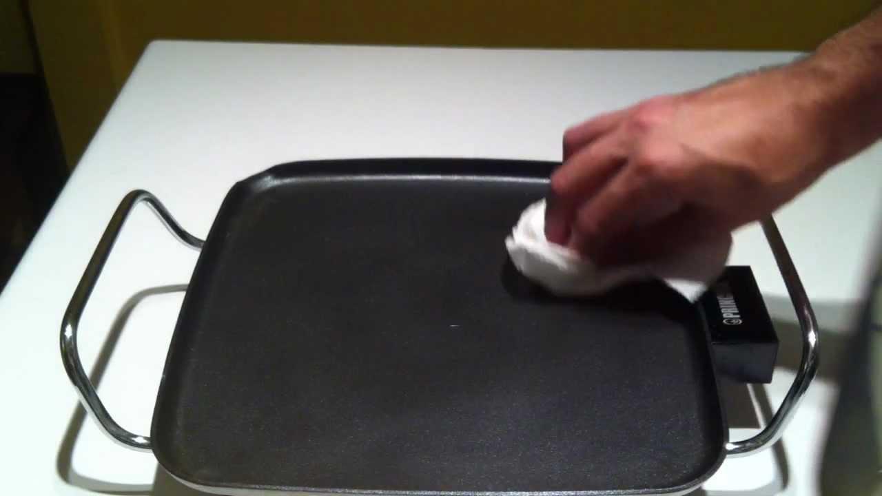 plancha de tefl n c mo la limpio youtube