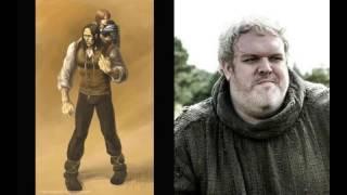Герои Игры престолов в сериале и в книге