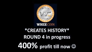 WHIZCOIN | Live Rate $0.1 | ICO Round 1 | Next Bitcoin