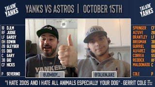 Yanks vs Astros   ALCS Game 3   Pre-Game Show