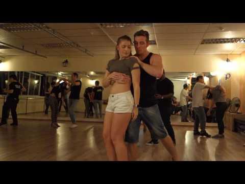 Bruno Galhardo & Layssa Liebscher social dancing (Zouk Dance Academy)