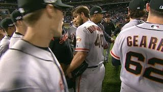 NL WC: Gillaspie, Bumgarner lift Giants to NLDS
