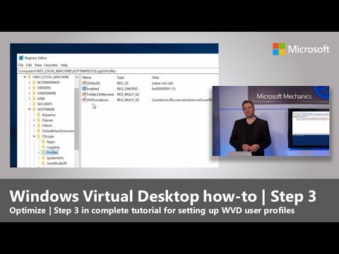 Windows Virtual Desktop How-to | Step 3: Optimize