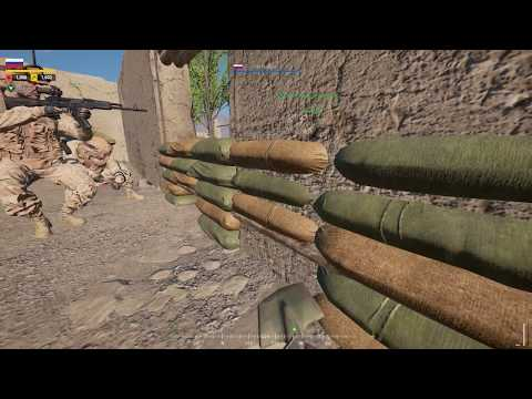 Squad - Russia - Advance & Secure - Foot Patrols, LOGI Runs and Defending the FOB from Enemy Attacks