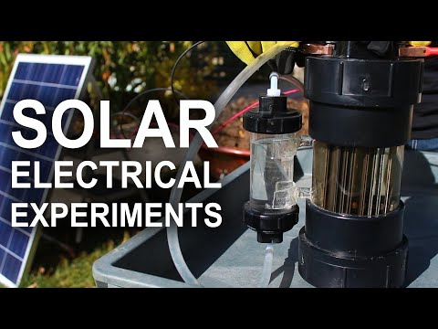 Solar Electrical Experiments (#ad)