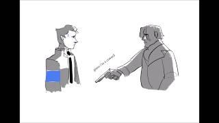 hank/connor | nobody - mitski