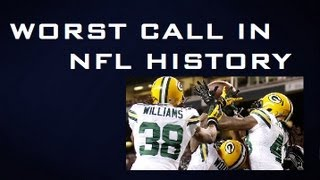 worst call in nfl history fail mary packers vs