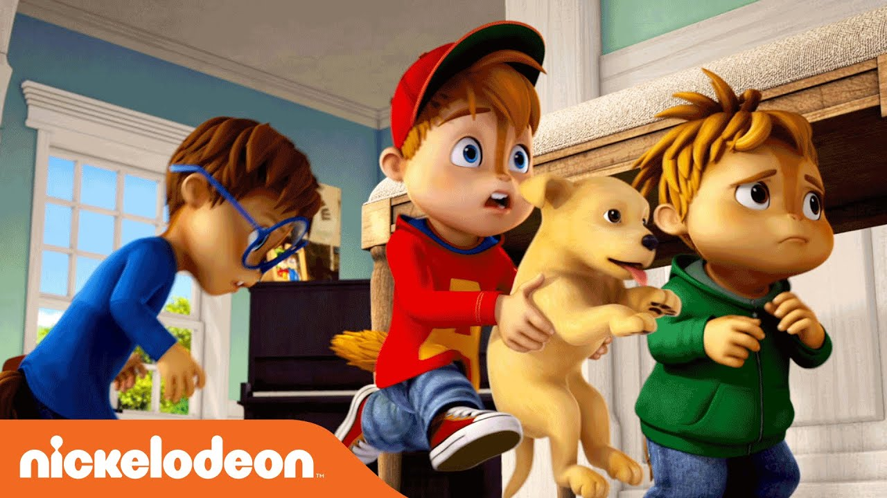 alvinnn and the chipmunks puppy love official