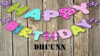 Dhuunn   Wishes & Mensajes